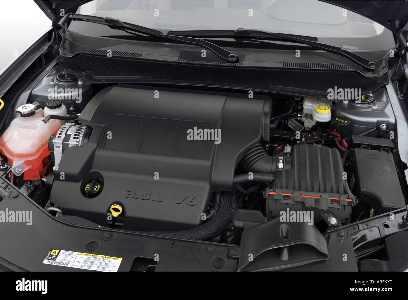 2008 Dodge Avenger R T In Silver Engine Stock Photo Alamy