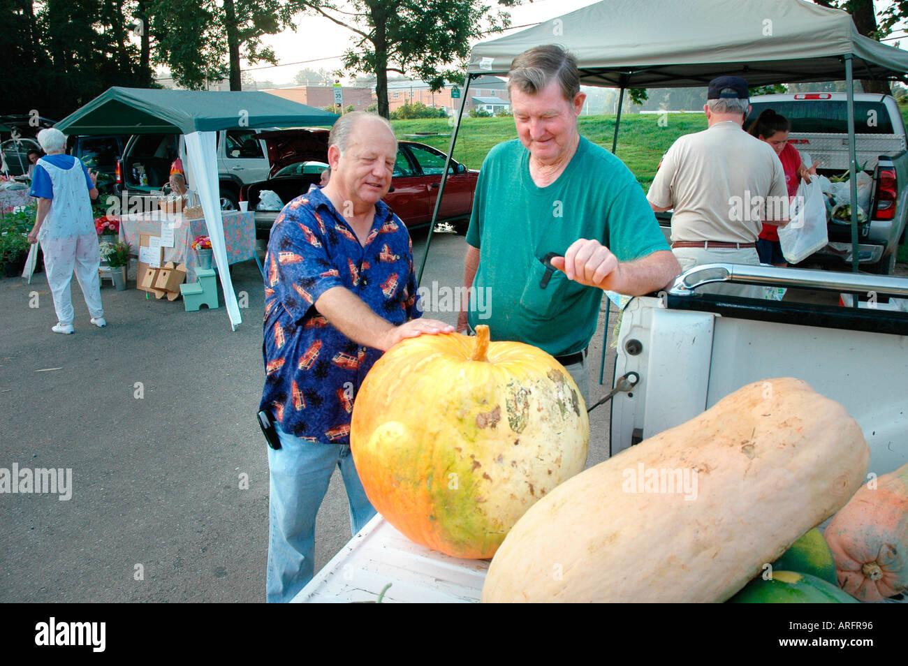 American Countryside Farmers Market Stock Photos & American