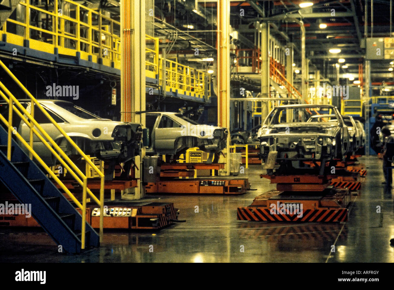American automotive plant - Stock Image