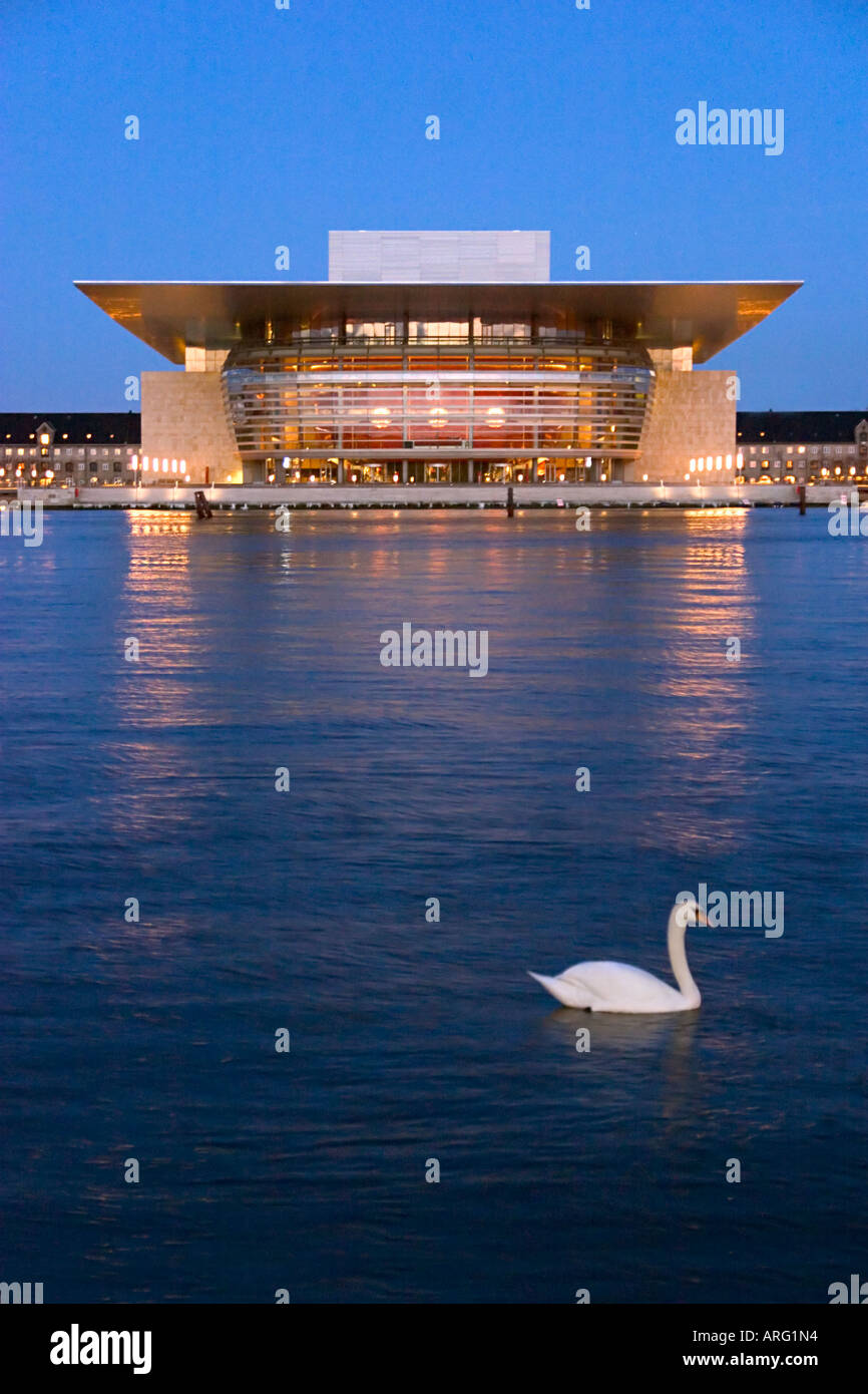 Operaen The Opera House Copenhagen Denmark Stock Photo