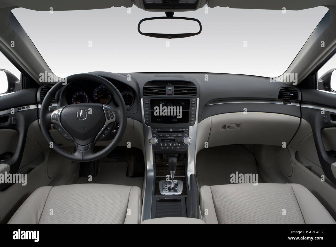 Acura Tl Stock Photos Acura Tl Stock Images Page Alamy - Acura tl dashboard