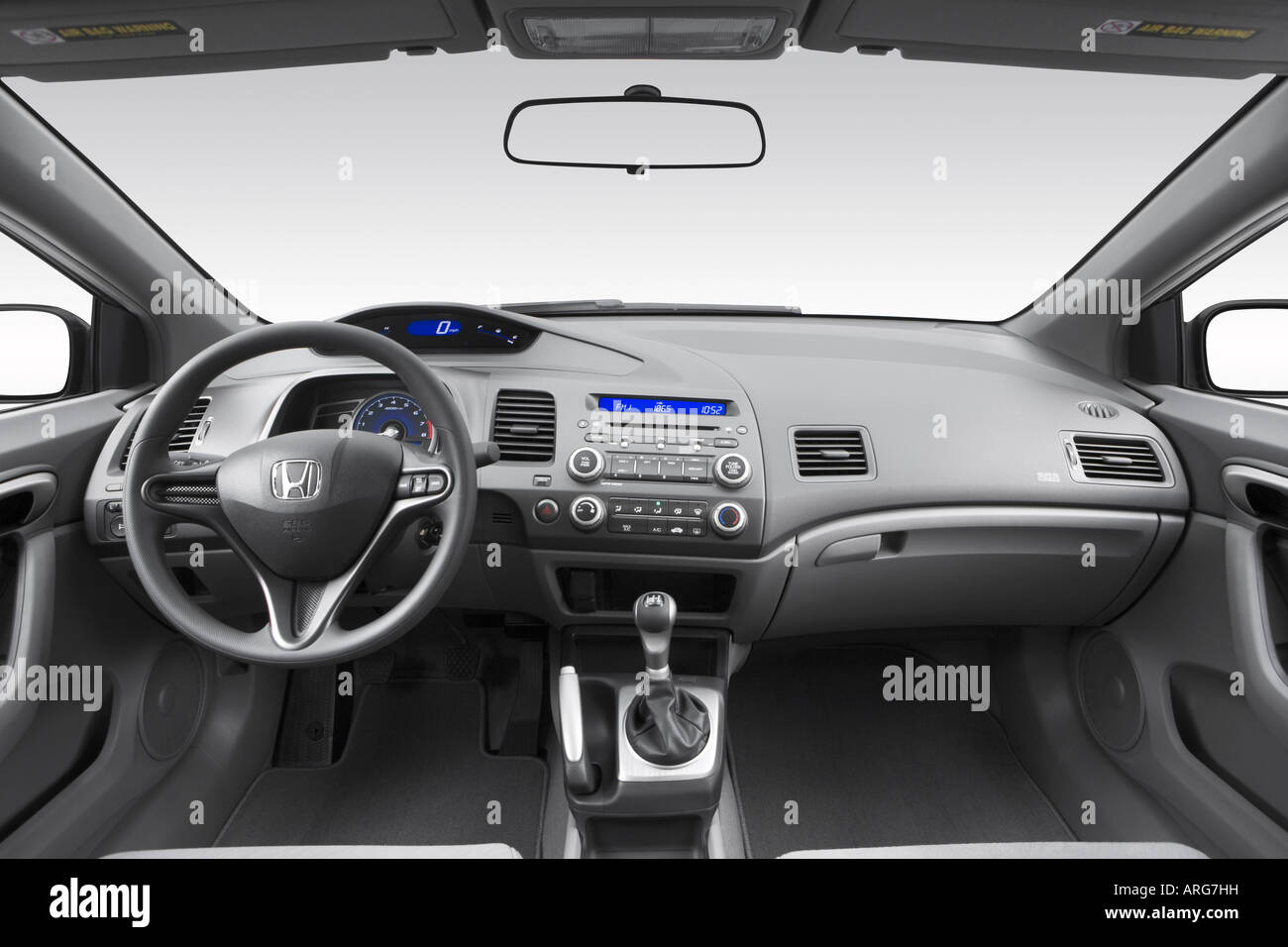 honda civic dashboard stock  honda civic dashboard stock images alamy