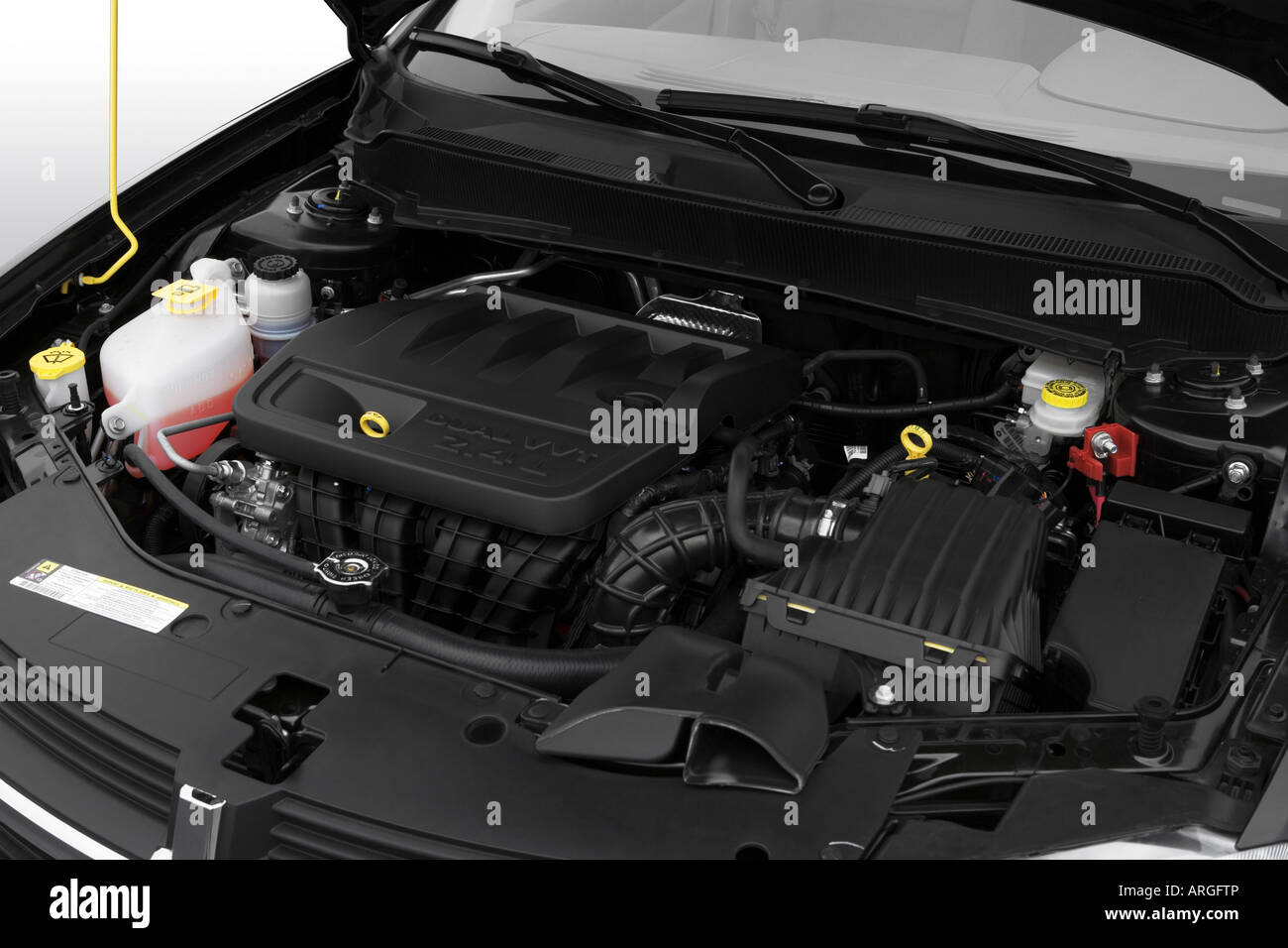 2008 Dodge Avenger Sxt In Black Engine Stock Photo Alamy