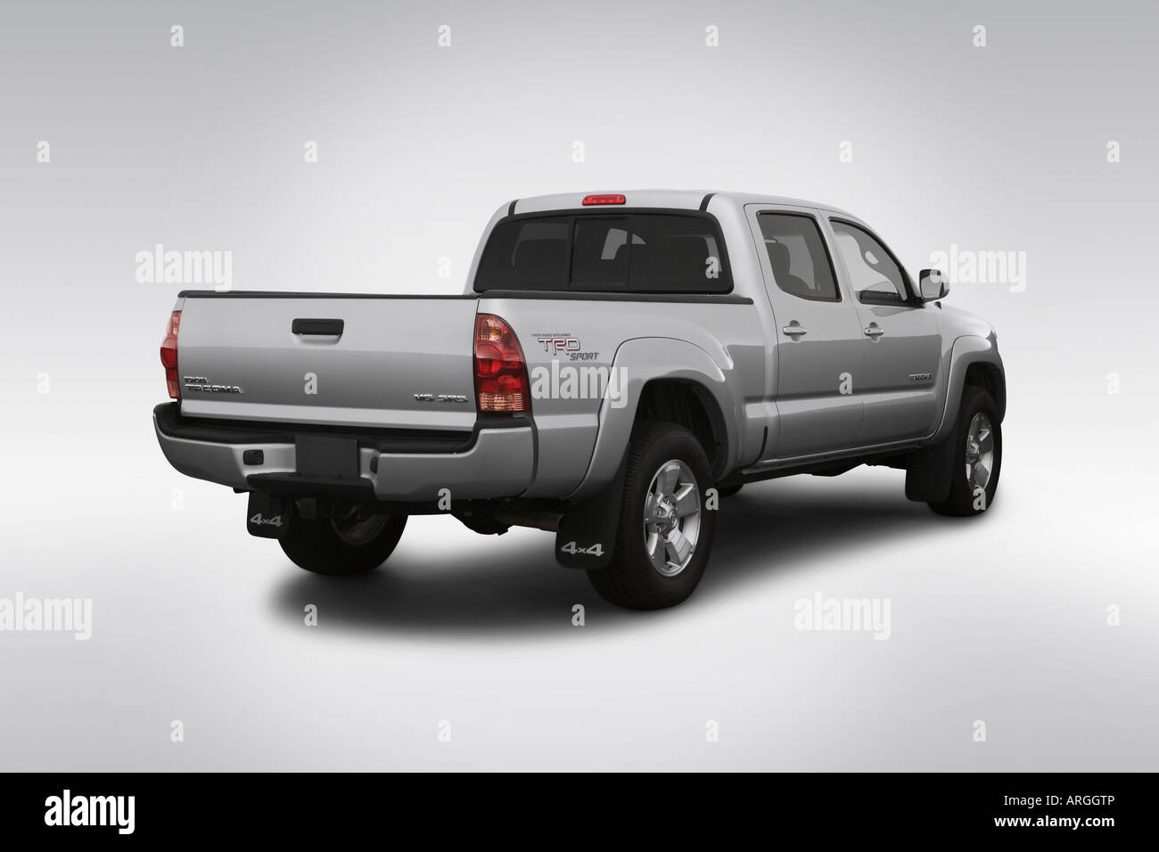 4x4 truck pickup toyota stock photos 4x4 truck pickup toyota stock 2007 toyota tacoma v6 in silver rear angle view stock image publicscrutiny Images