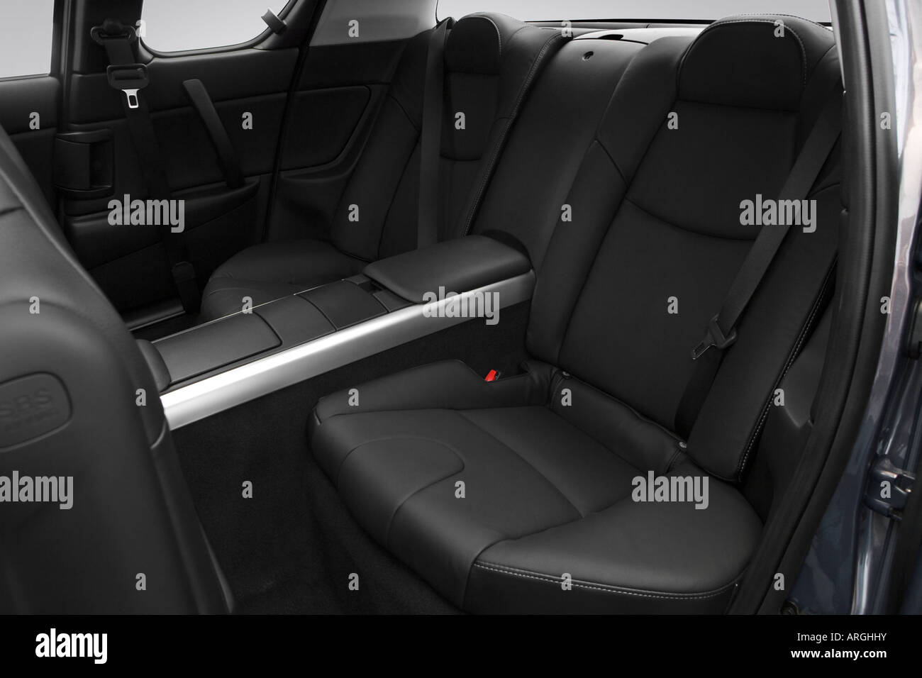 2007 mazda rx 8 6mt grand touring in gray rear seats stock photo 16049702 alamy. Black Bedroom Furniture Sets. Home Design Ideas