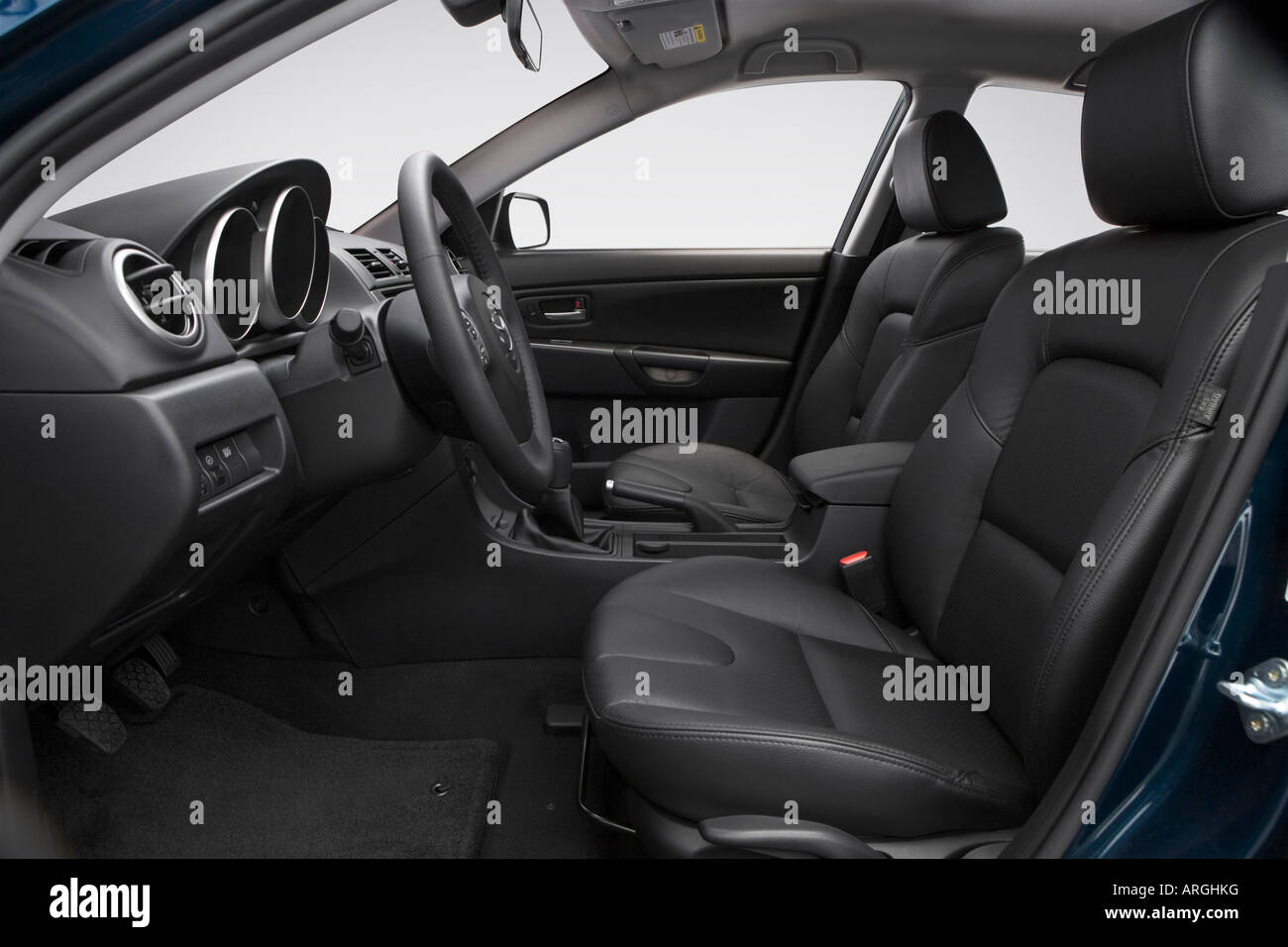 2007 Mazda Mazda3 S Grand Touring In Blue Front Seats