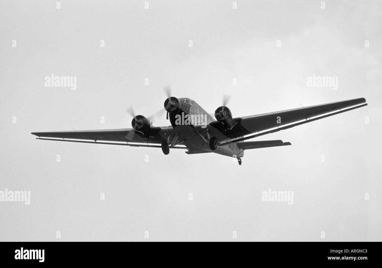 Junkers Ju52 - Stock Image
