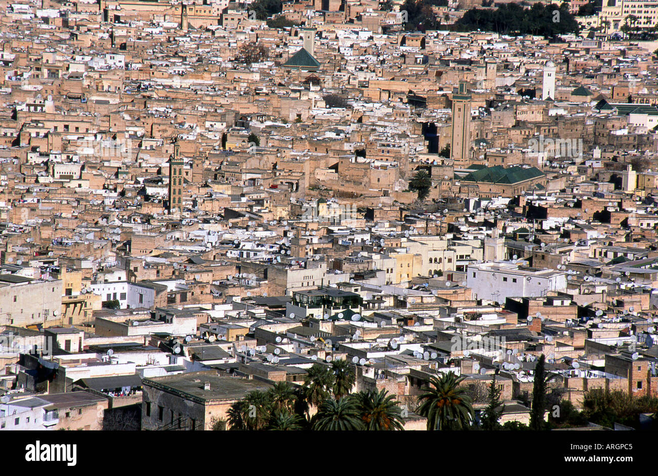 Fes Fez Fès-Boulemane Northern Morocco Middle Atlas Maghreb Maghrebian Berber Arab Arabic Moroccan North Africa Stock Photo