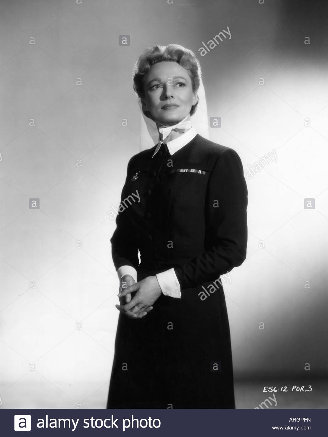 Neagle, Anna, 20.10.1904 - 3.6.1986, British actress, half length, PR photo for movie 'No Time for Tears', - Stock Image