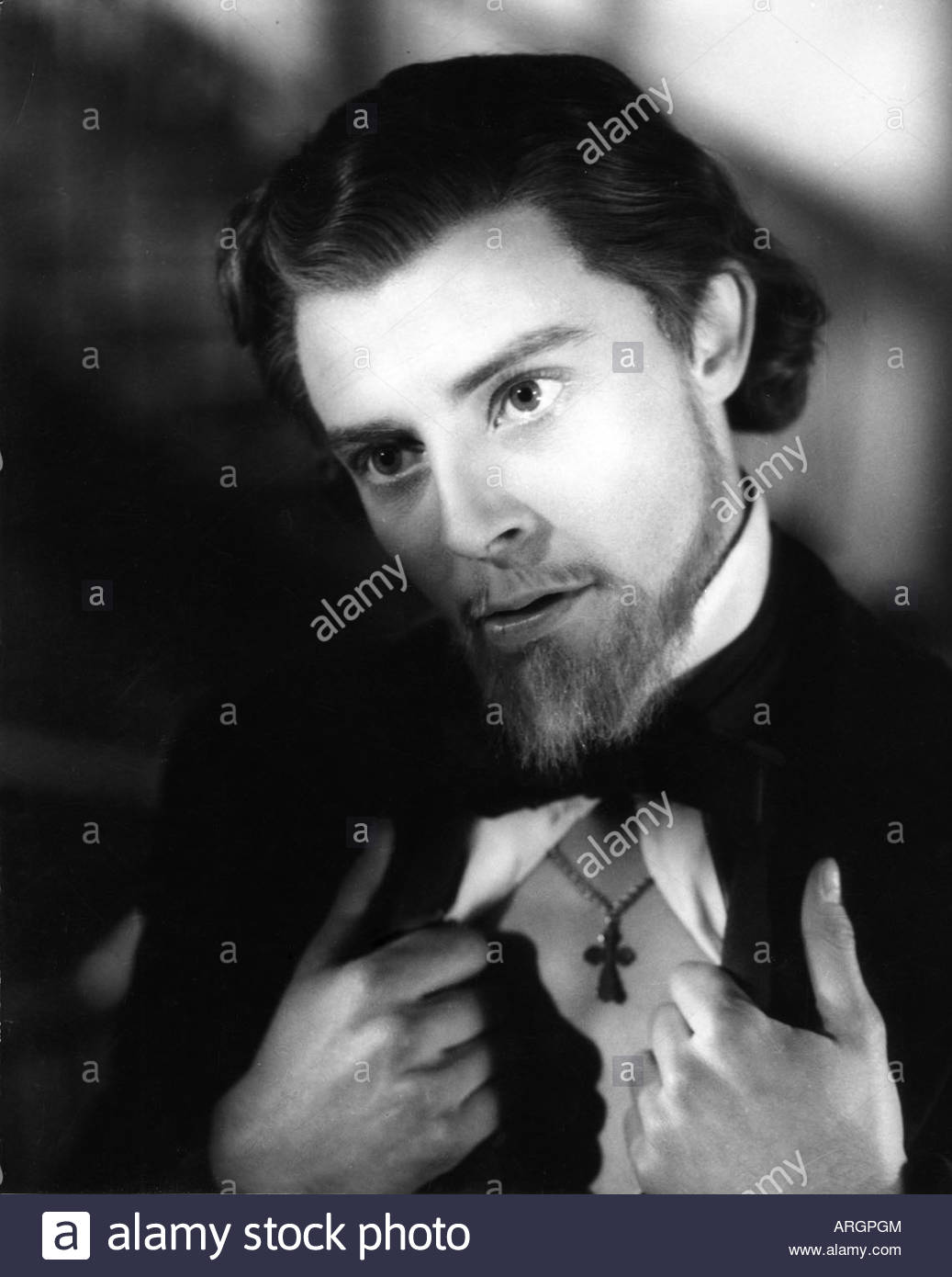 Philipe, Gerard, 4.12.1922 - 22.11.1959, French actor, portrait, scene from movie, 'The Idiot', FRA 1946, - Stock Image