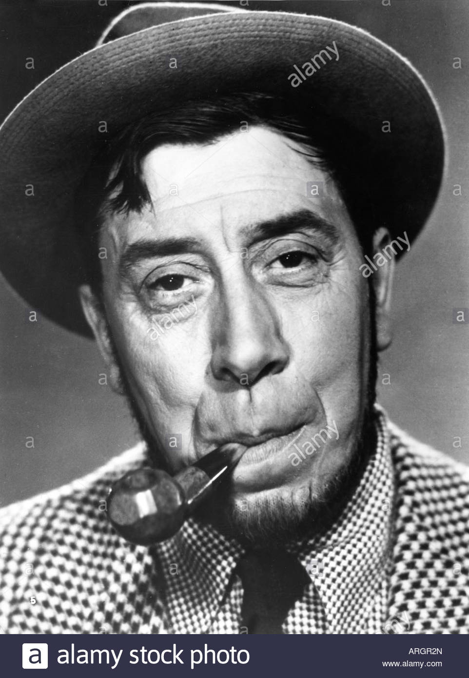Fernandel, 8.5.1903 - 26.2.1971, French actor and singer, portrait, PR photo for movie, 'The Sheep Has Five - Stock Image