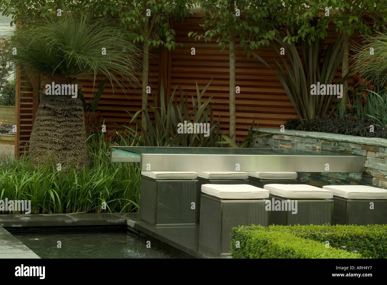 The Flemings Nurseries Australian Garden at Chelsea Flower Show 2006 - Stock Image