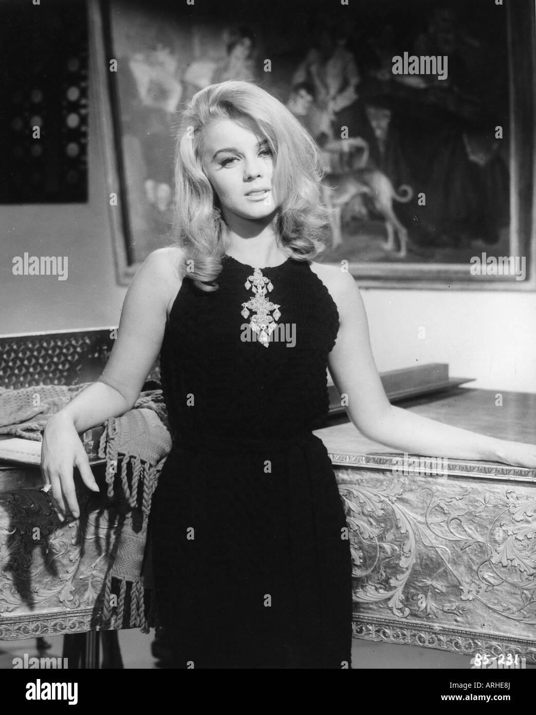 Ann-Margret, * 28.4.1941, Swedish actress, half length,  early 1960s, birth name Ann-Margret Olsson, Ann Margret, - Stock Image
