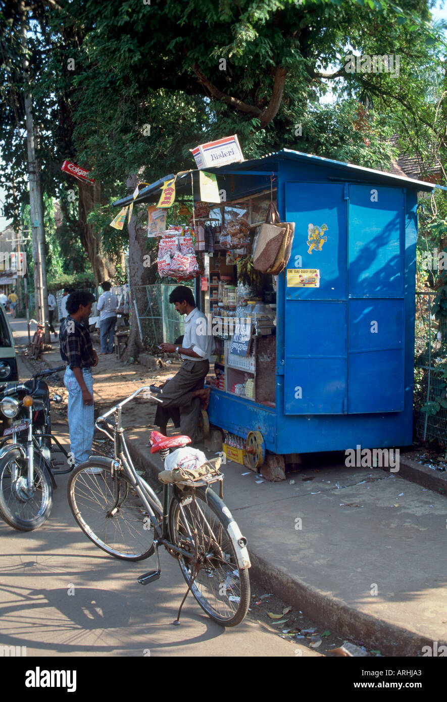 Panjim Or Panaji Stock Photos Images Alamy Full Bike Pato Fx 1 Typical Street Stall In The Capital City Goa India