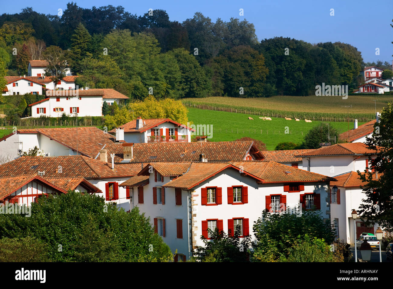 Architecte Paysagiste Pays Basque pays basque france stock photos & pays basque france stock