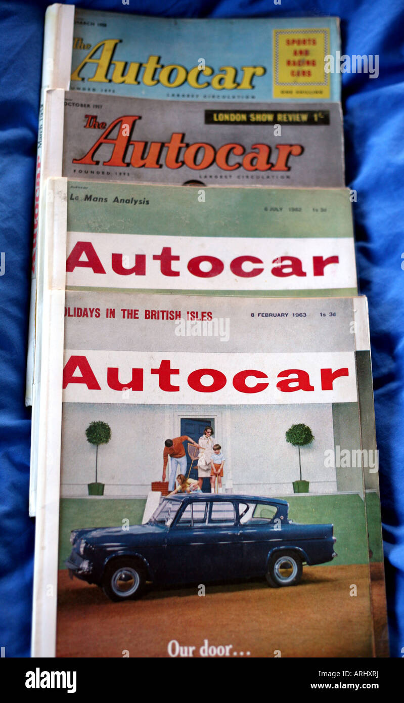 Vintage Car Magazine Stock Photos & Vintage Car Magazine Stock ...