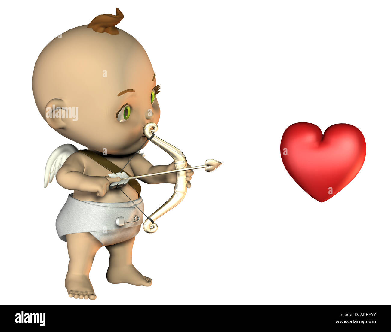 Amor Cupid - Stock Image