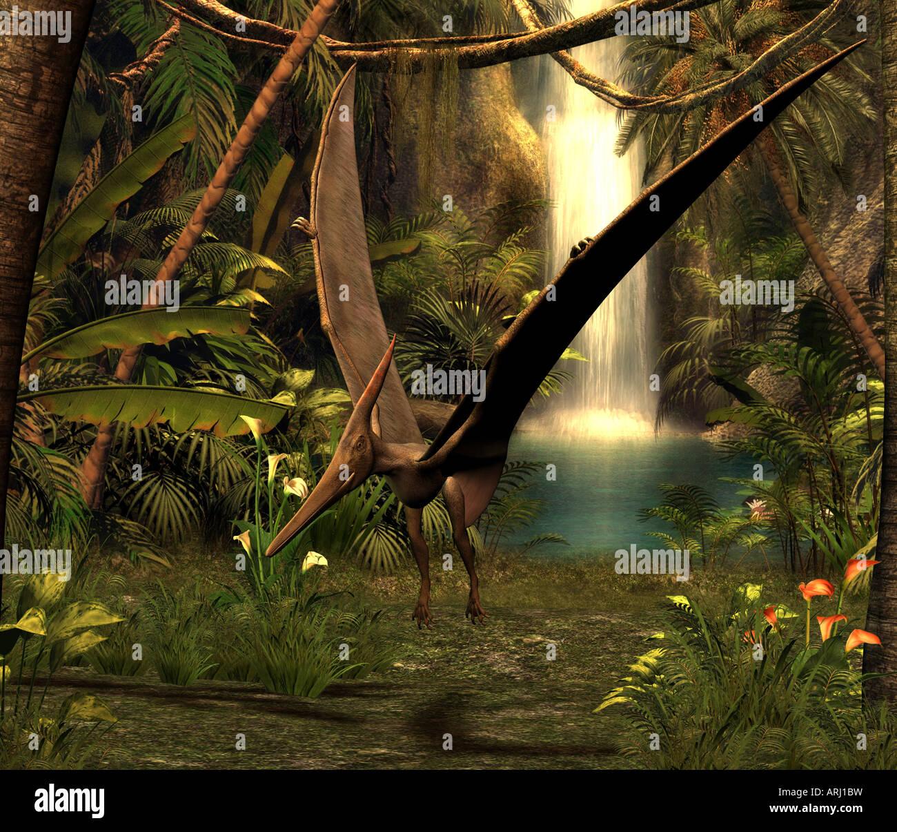 dinosaur PteranodonStock Photo