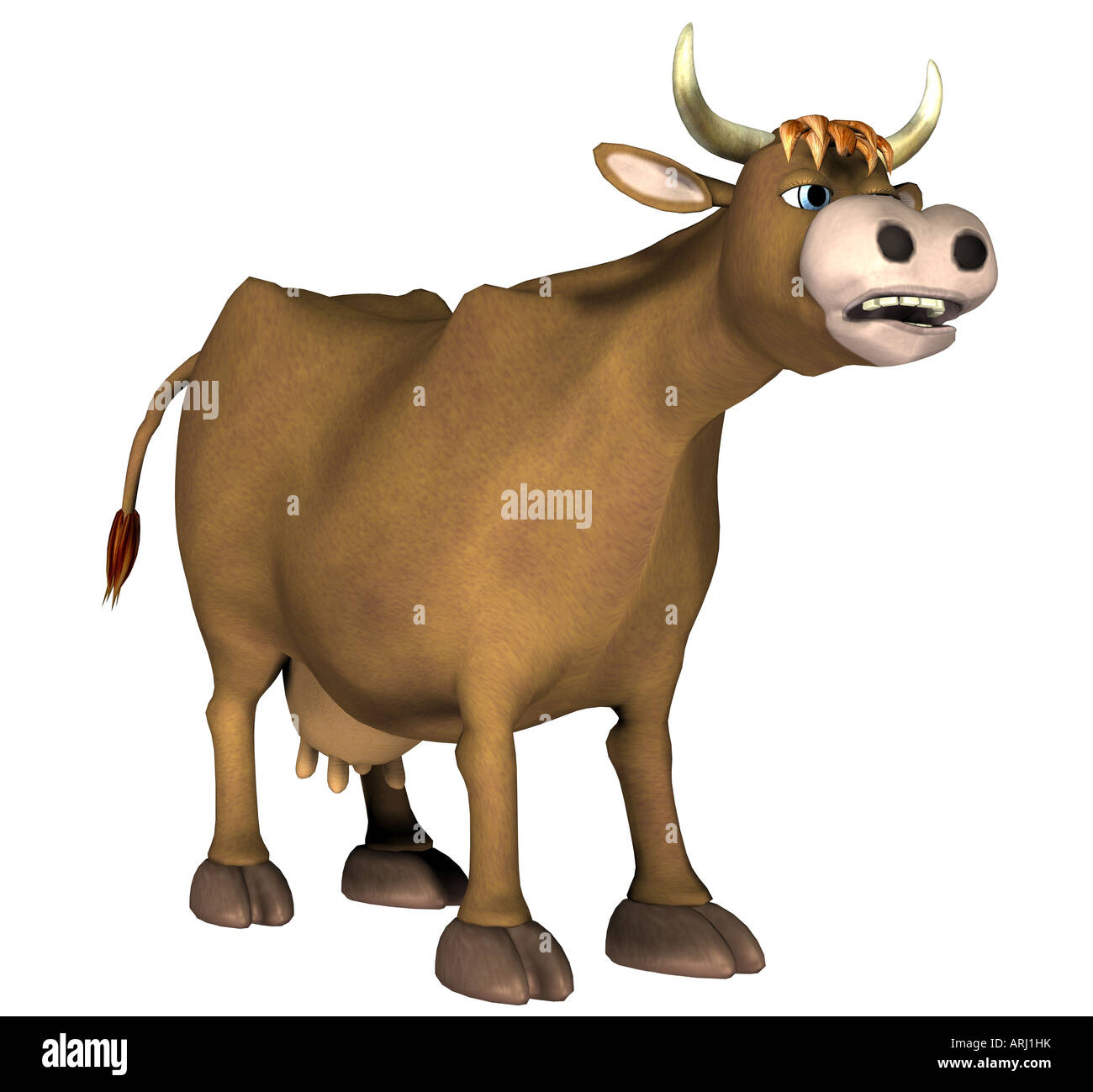 cow - Stock Image