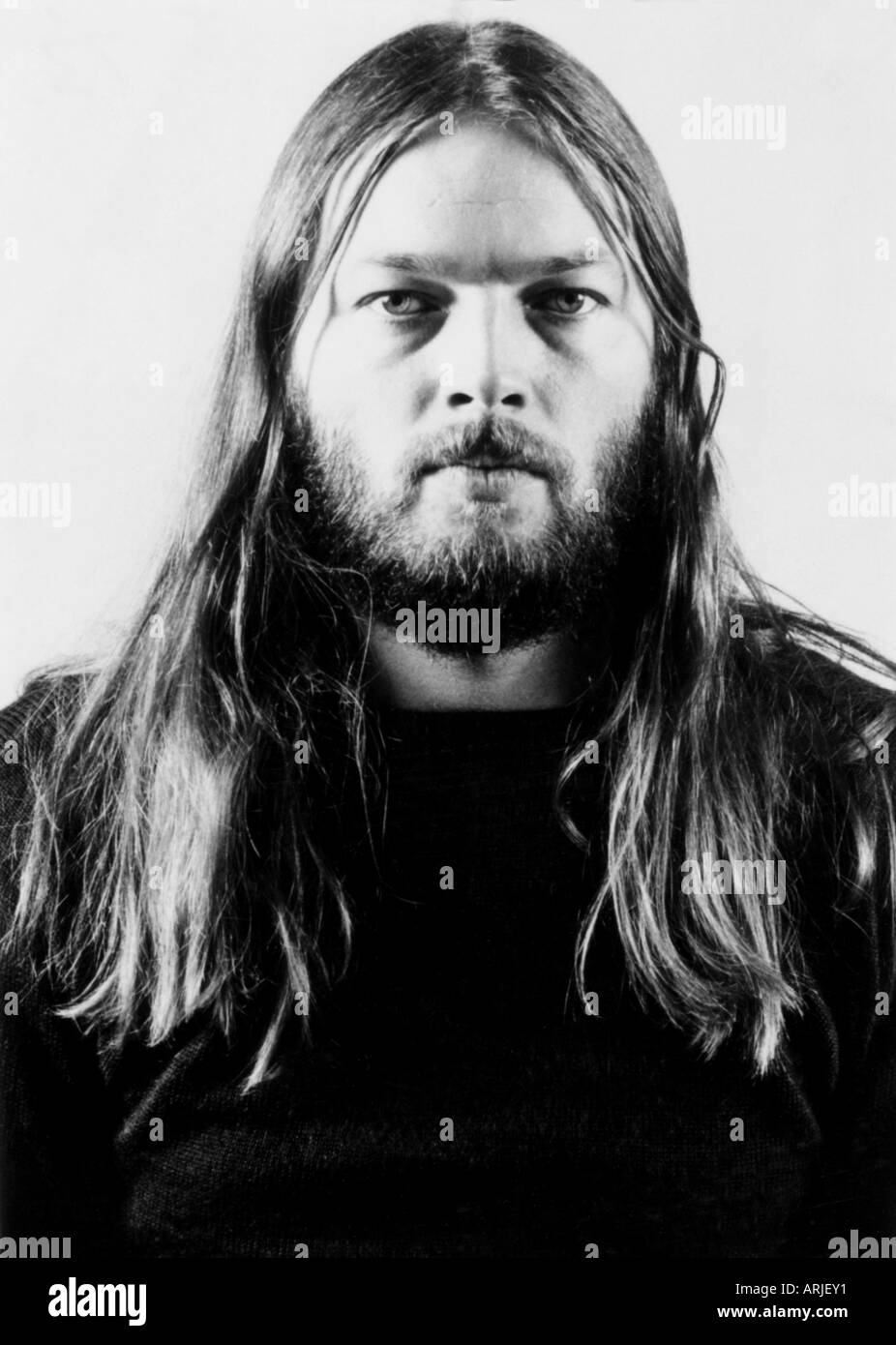 PINK FLOYD -  Dave Gilmour of the UK group about 1976 - Stock Image
