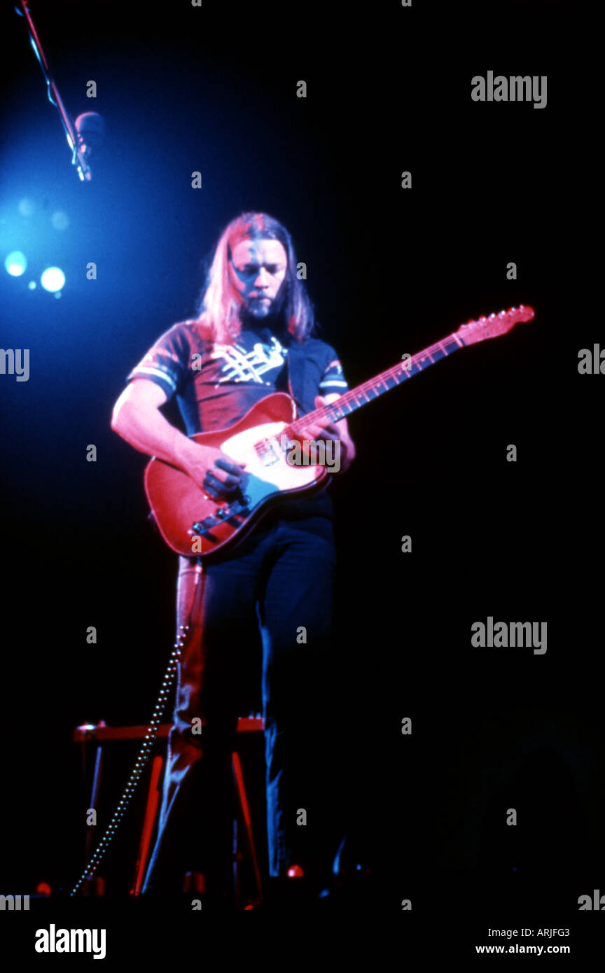 PINK FLOYD Dave Gilmour about 1978 - Stock Image