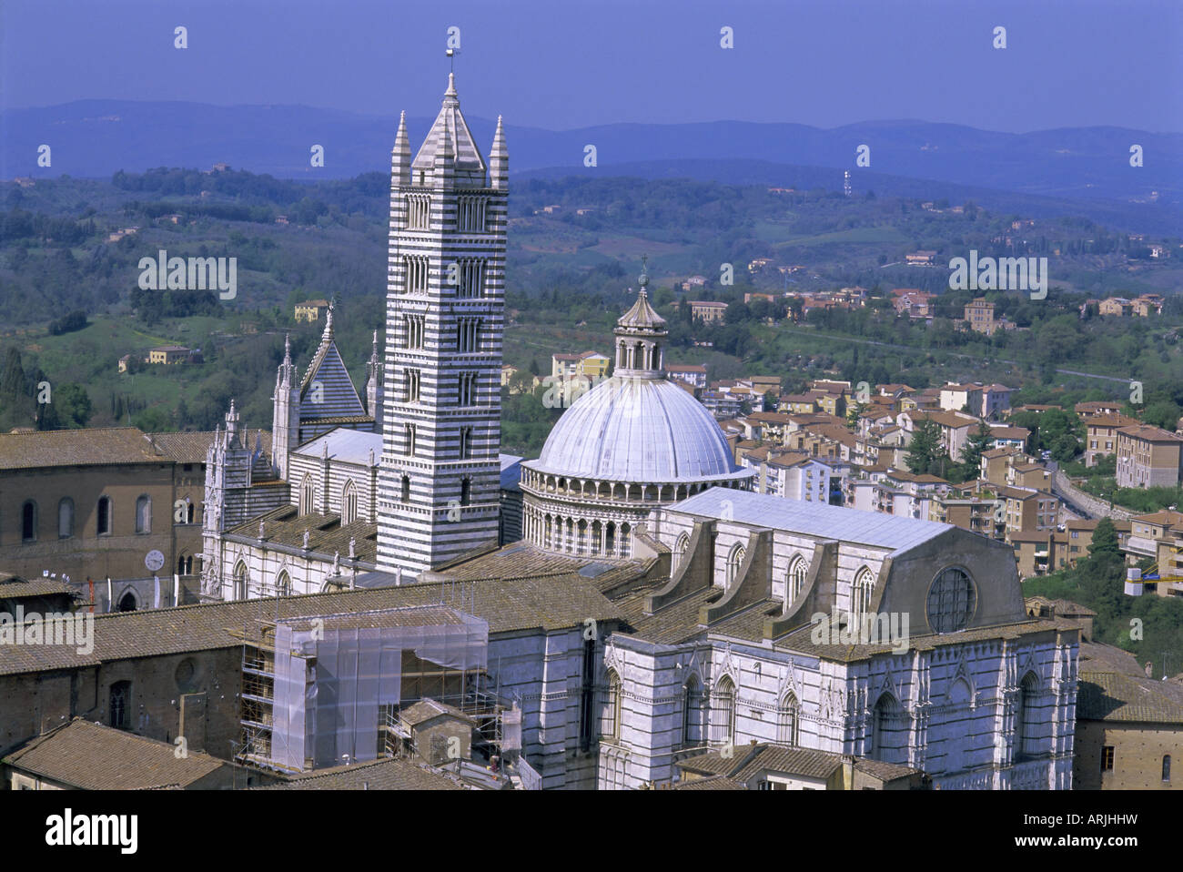 The Duomo (Cathedral), Siena, UNESCO World Heritage Site, Tuscany, Italy, Europe Stock Photo