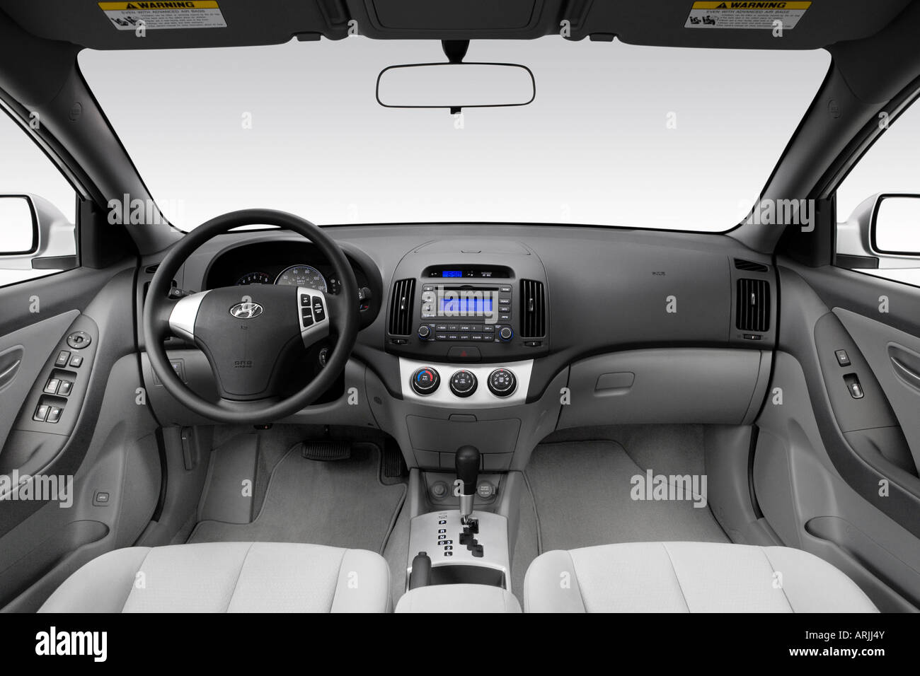 Awesome 2008 Hyundai Elantra GLS In Silver   Dashboard, Center Console, Gear  Shifter View
