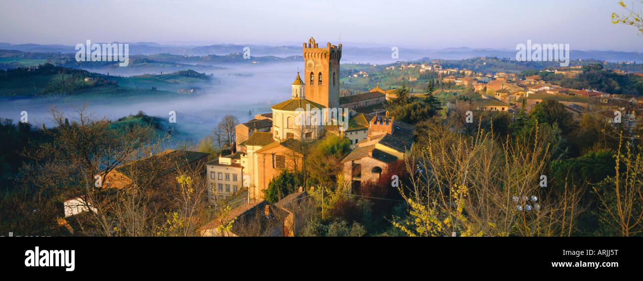San Miniato, Pisa province, Tuscany, Italy Stock Photo