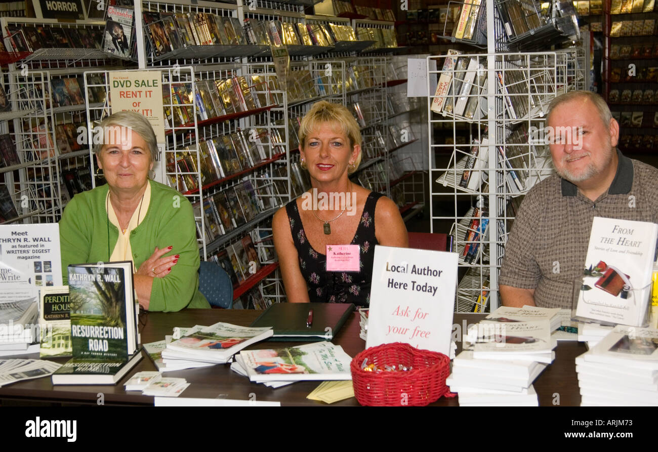 Authors Kathryn R Wall Kendall Bell and Kathy Harpe - Stock Image