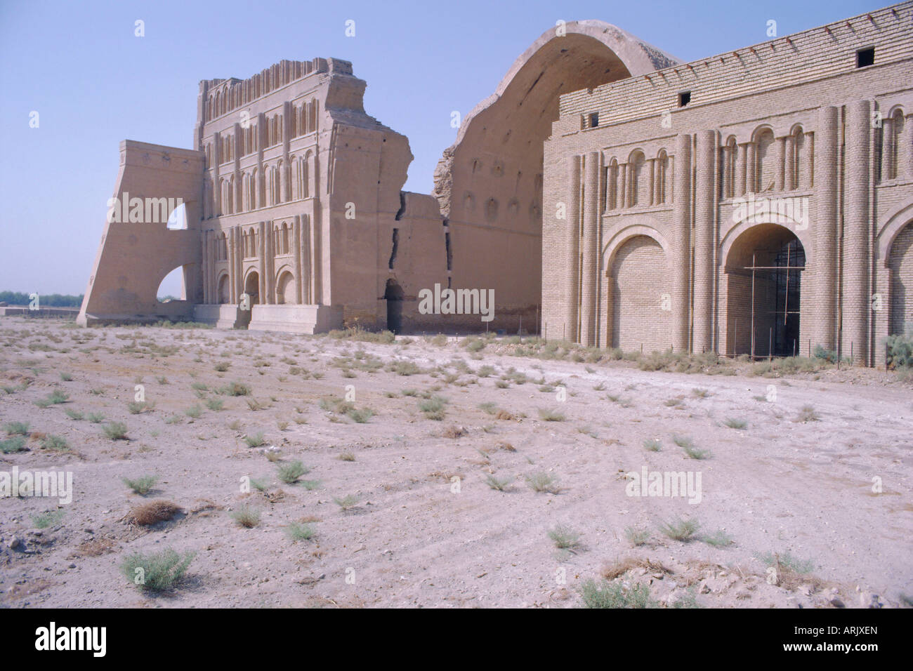 Ctesiphon (Al-Mada'in), the city dates from the 2nd century BC, 20 mile south of Baghdad, Iraq, Middle East - Stock Image