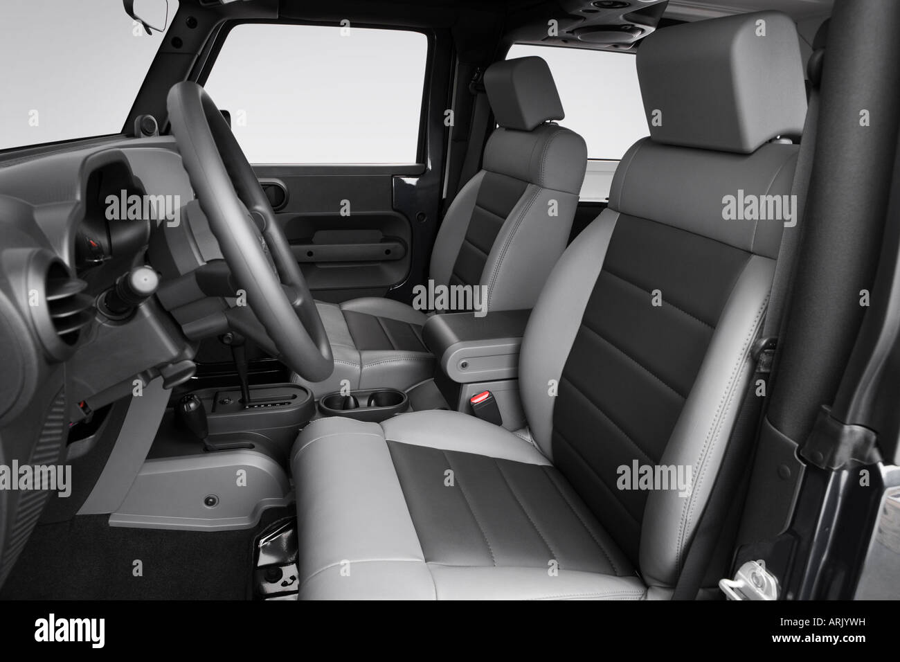 Jeep Wrangler Seats >> 2008 Jeep Wrangler X In Blue Front Seats Stock Photo
