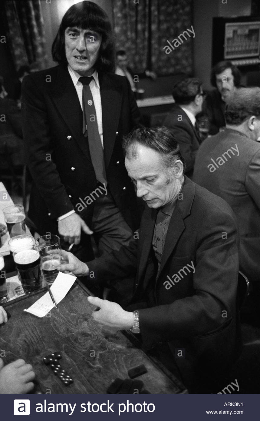 Byker St Peters Working Mens Social Club.  Newcastle upon Tyne. Tyne and Wear northern England 1973. - Stock Image