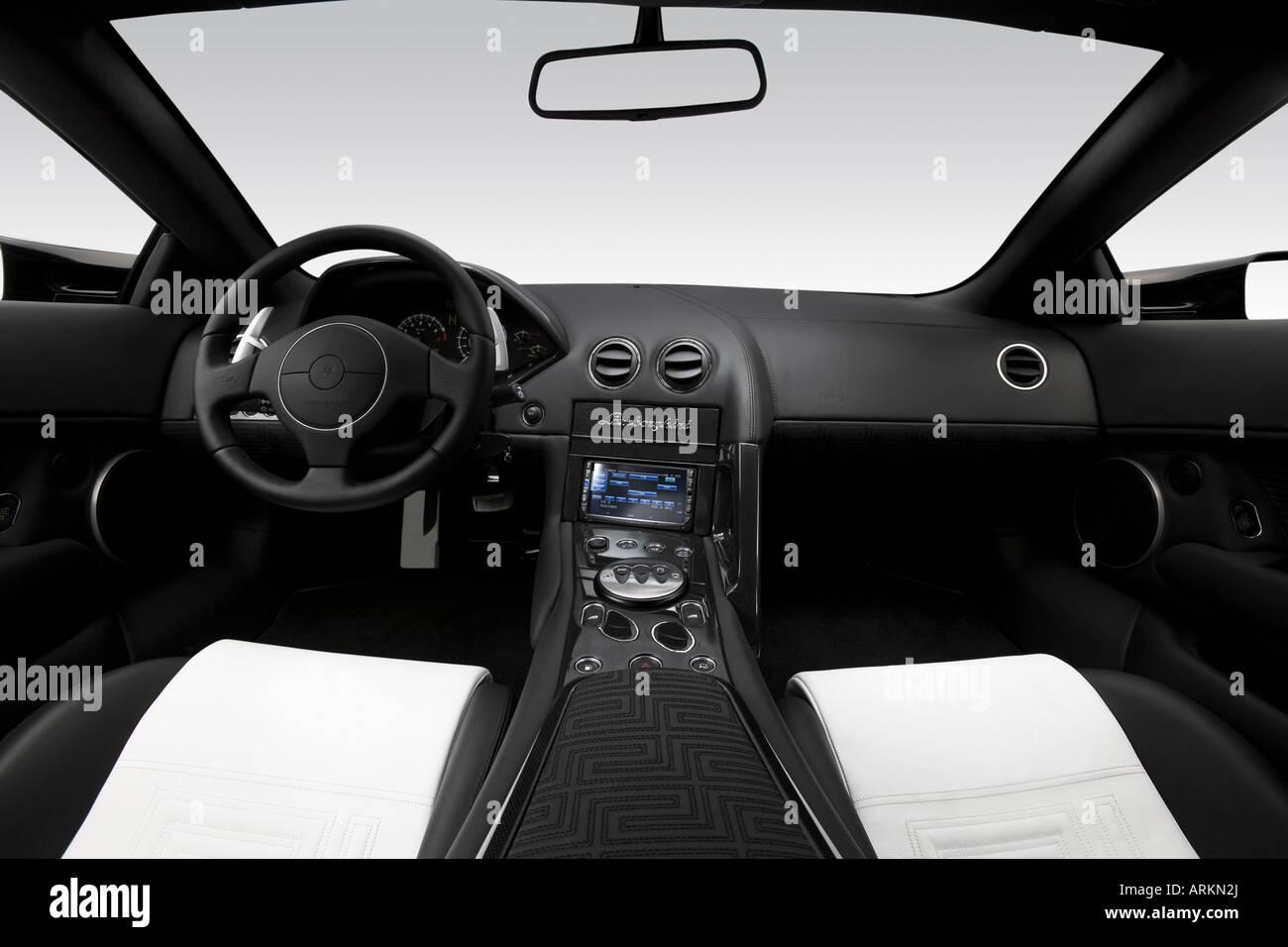 2007 Lamborghini Murcielago Lp640 Versace In Black Dashboard Stock