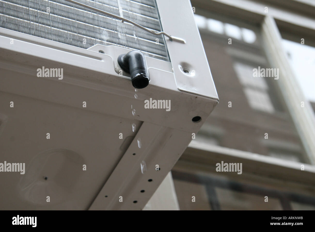 Air Conditioner Dripping Water Stock Photo 9188186 Alamy