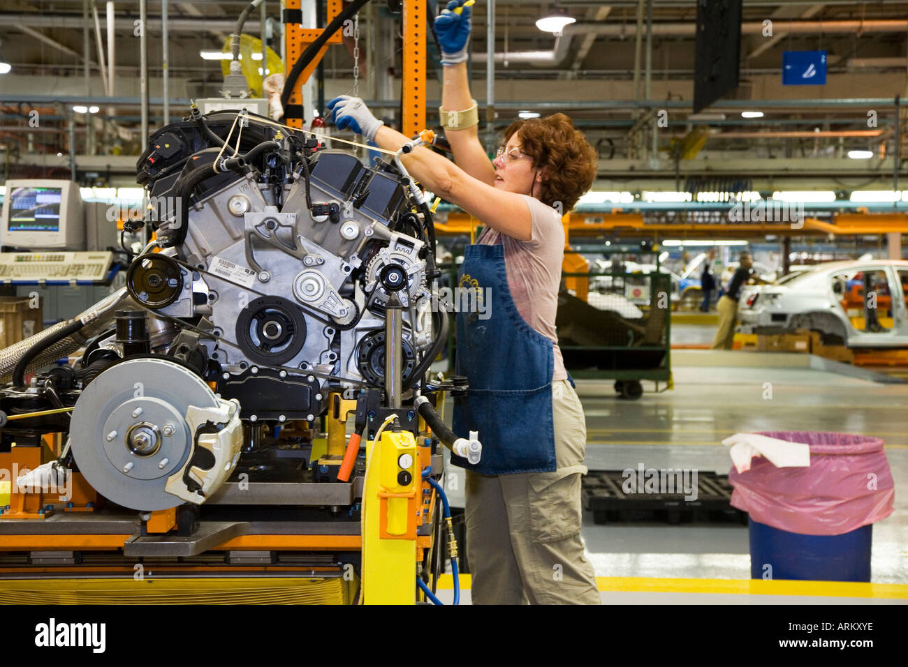 Sterling Heights Chrysler >> Chrysler Sterling Heights Assembly Plant Stock Photo 9189181 Alamy