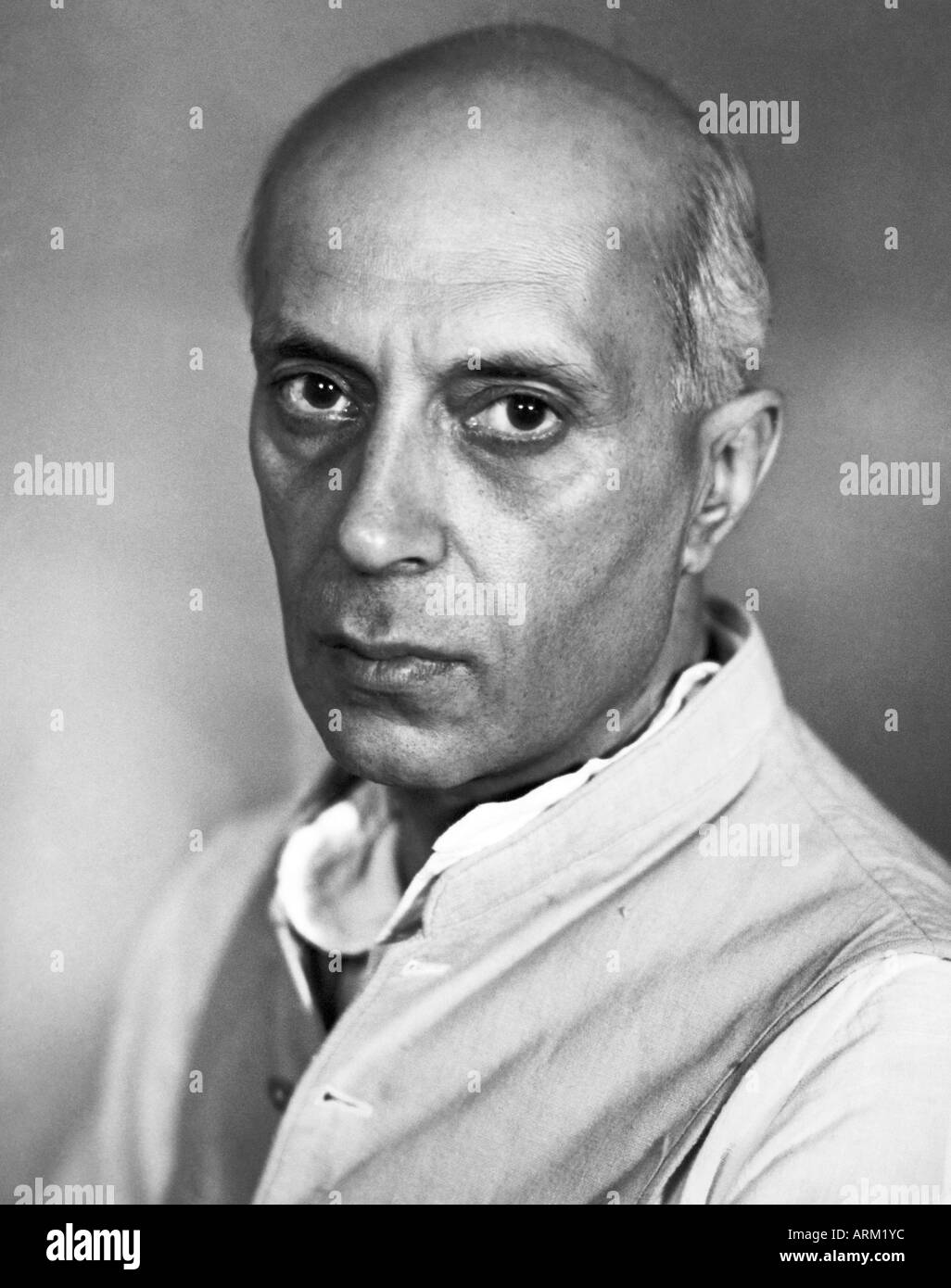 Indian Prime Minister Black and White Stock Photos & Images