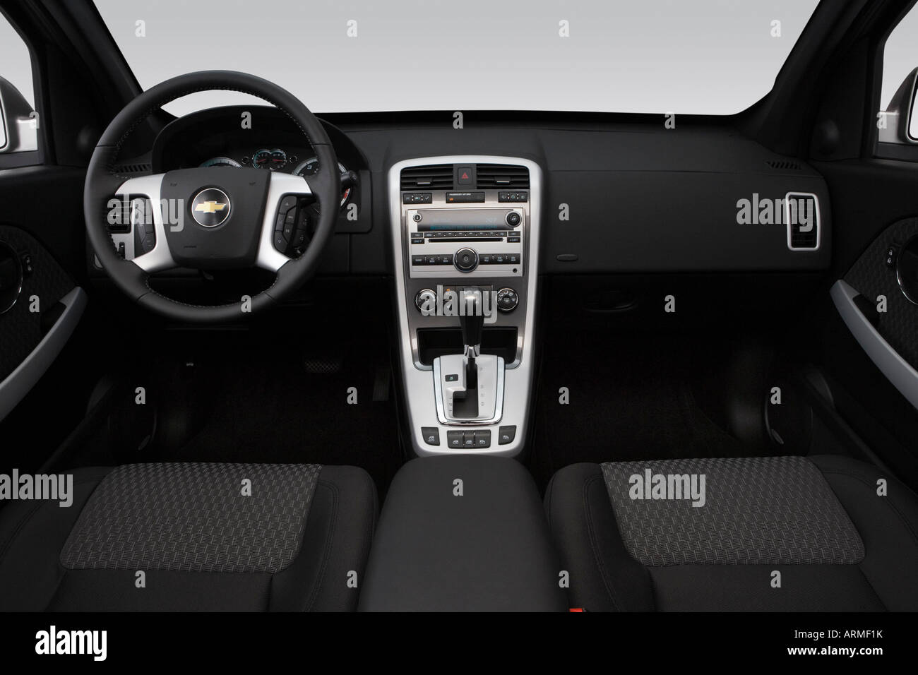 Equinox 2008 chevy equinox : 2008 Chevrolet Equinox Sport in Silver - Dashboard, center console ...