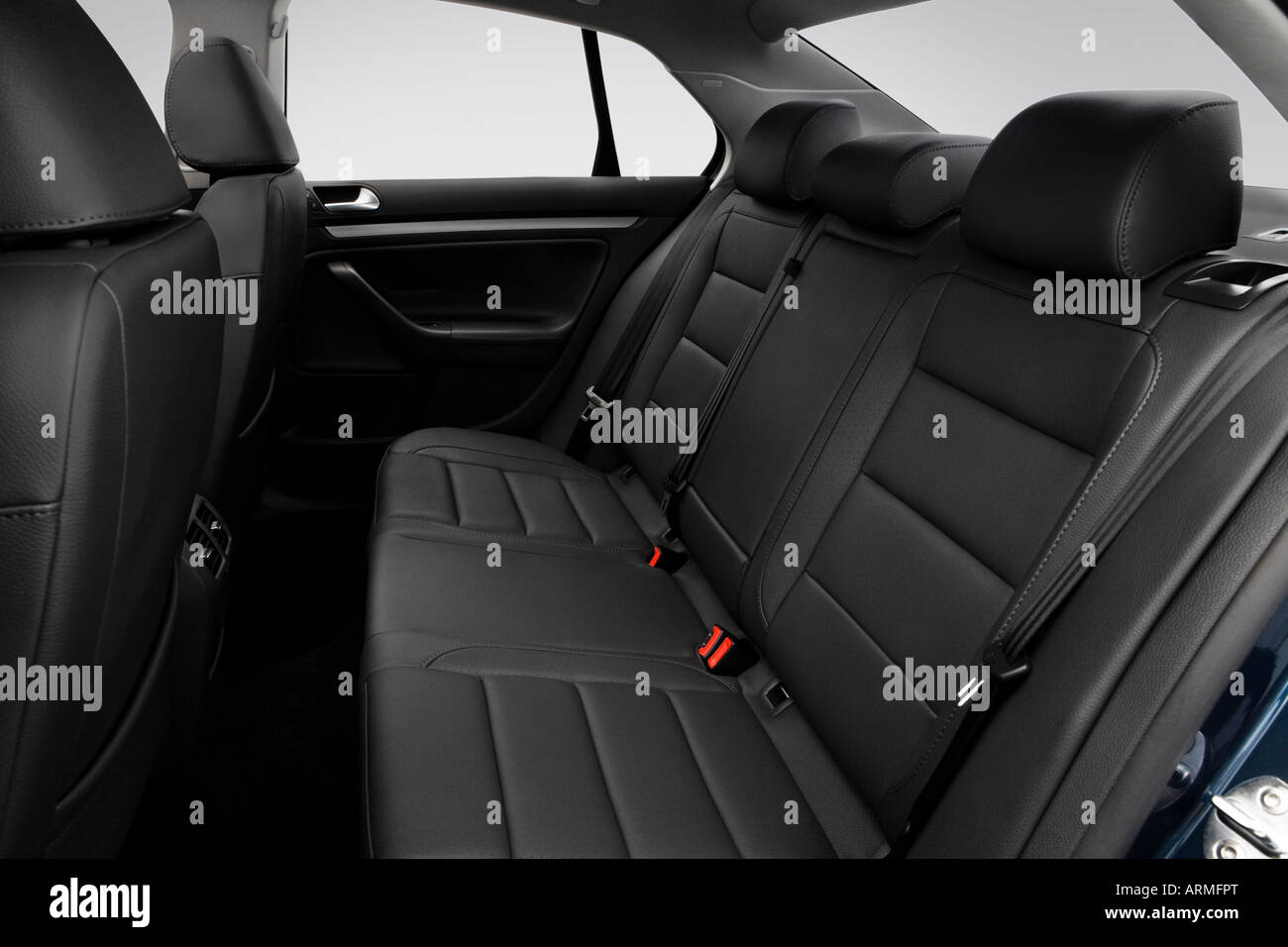 2008 volkswagen jetta se in blue rear seats stock photo 16086719