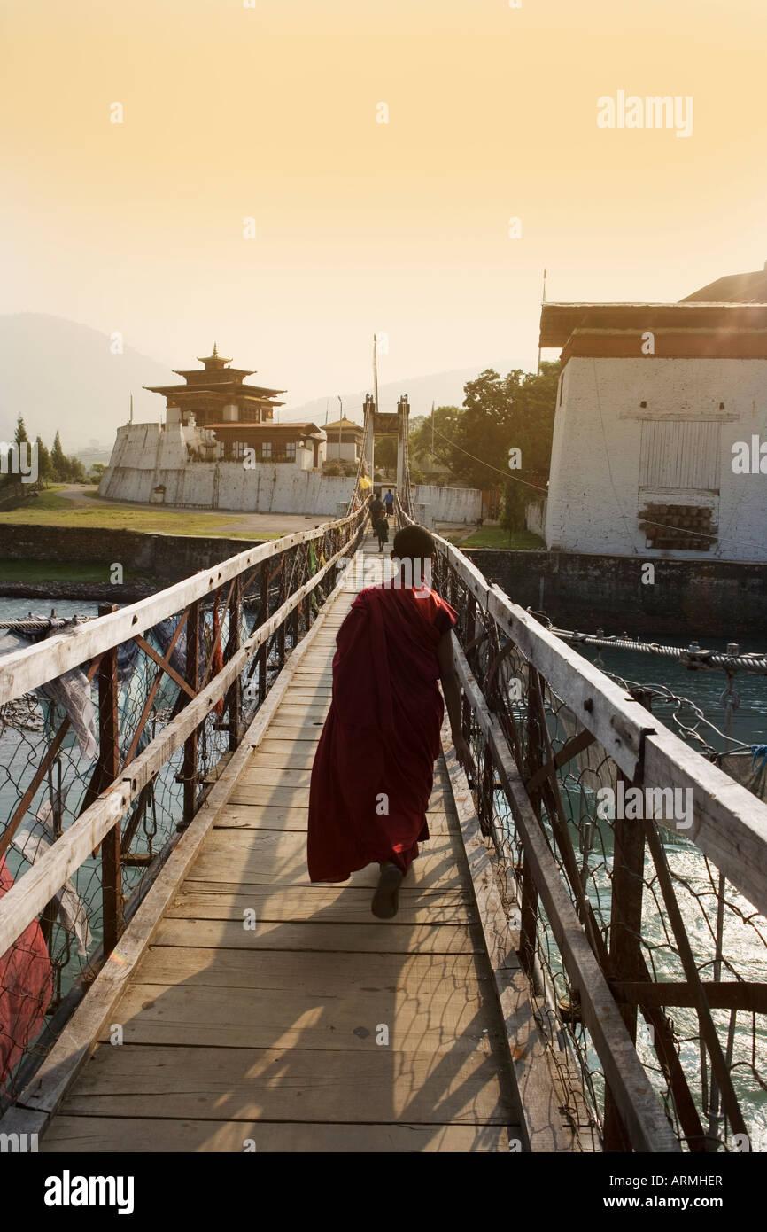 Punakha Dzong, Punakha, Bhutan, Asia - Stock Image