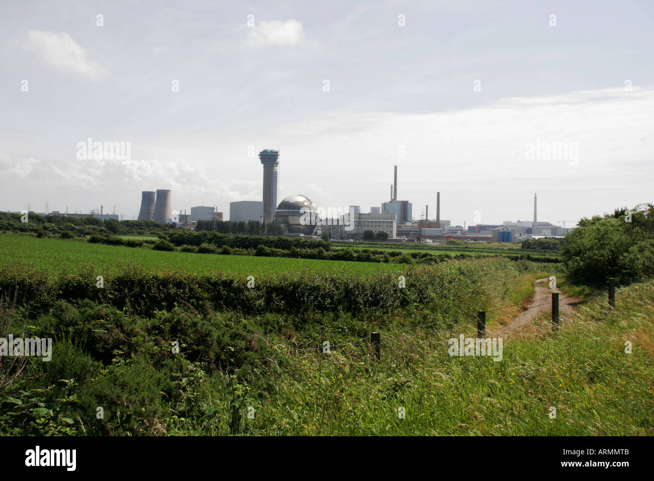 Sellafield Nuclear Facility - Stock Image