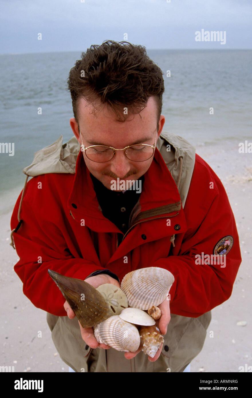 FL Florida Everglades National Park Seashore beach shelling near ...