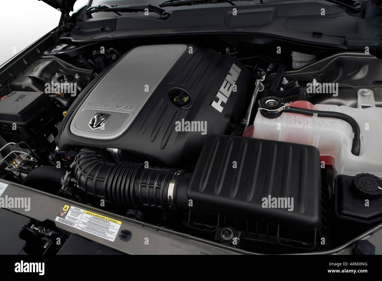 2008 Charger Rt >> 2008 Dodge Charger R T In Gray Engine Stock Photo