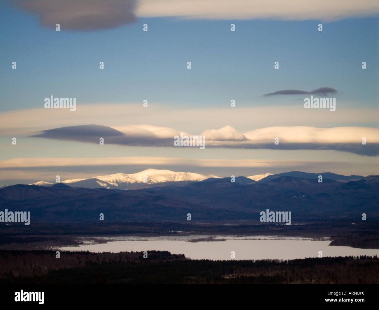 Mount Washington New Hampshire Stock Photo