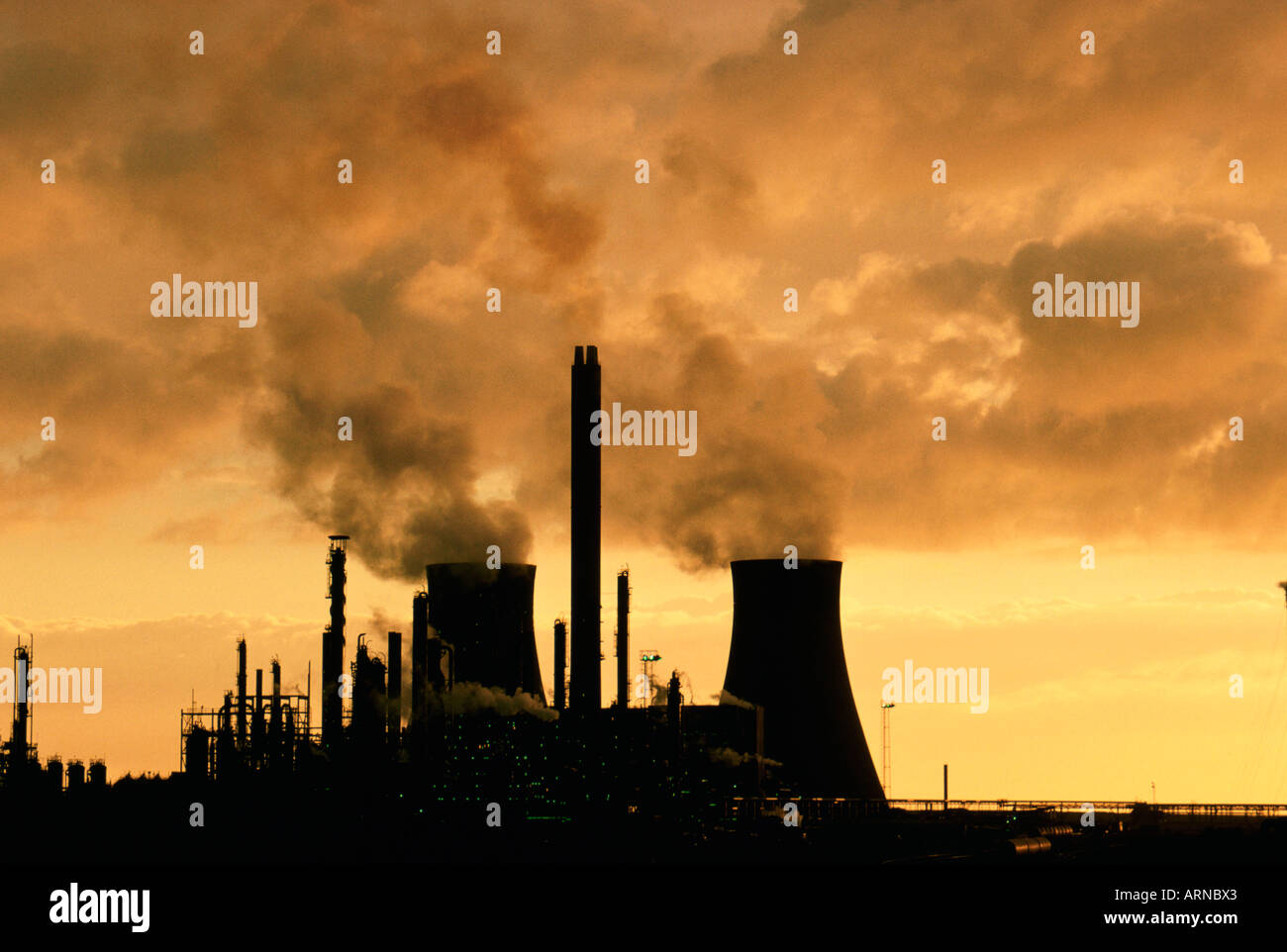 Electric Power Generation plant.Swansee Wales UK Stock Photo