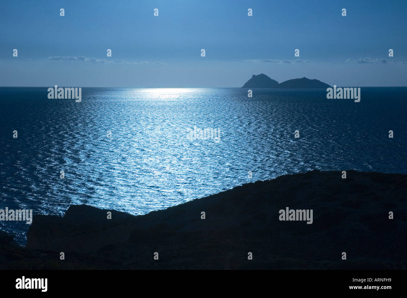 Oceanview Crete, Matala, Crete, Greece - Stock Image