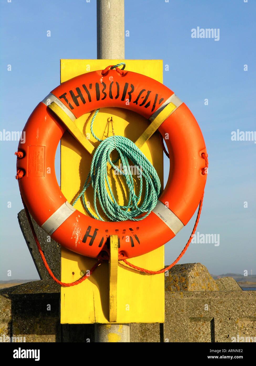 Rescue post - Stock Image