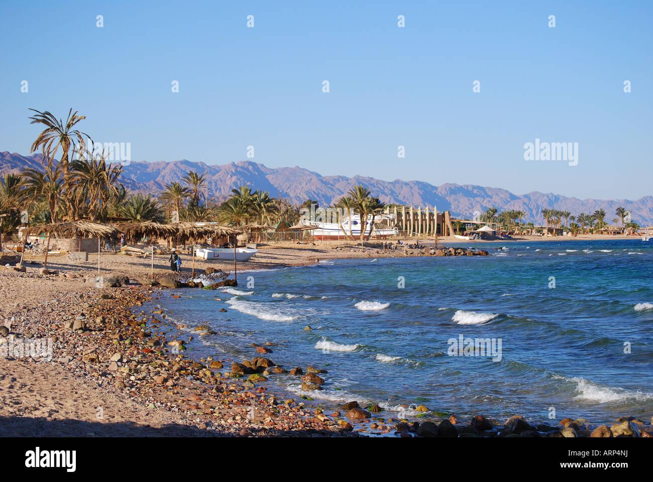 Nuweiba beach, Nuweiba, Sinai Peninsula, Republic of Egypt Stock Photo