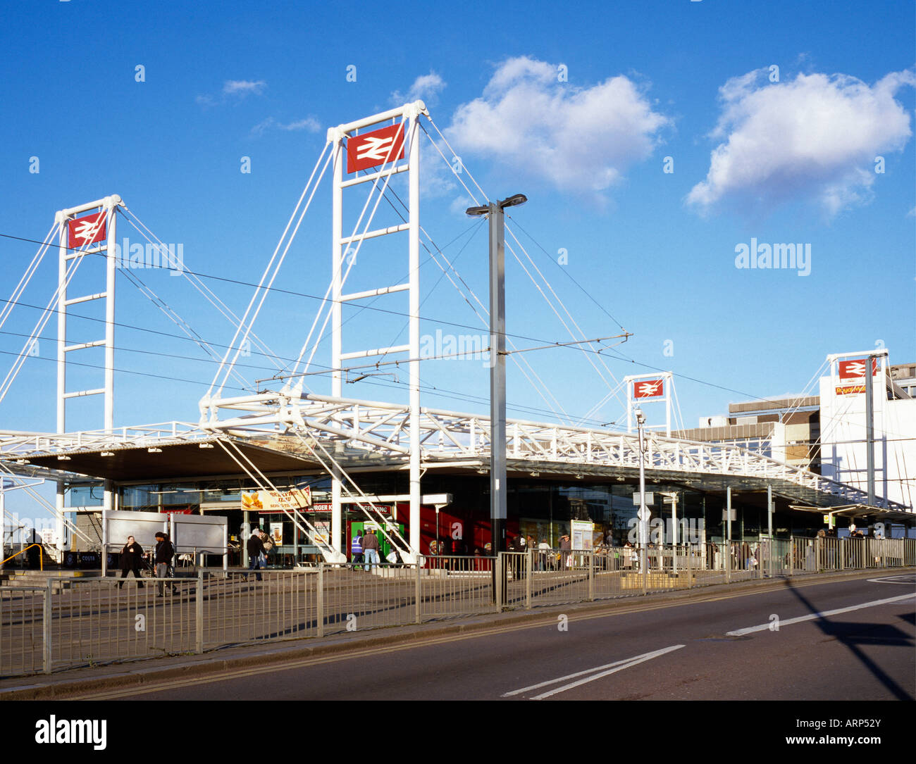 East Croydon British Railway Station Croydon London England UK - Stock Image