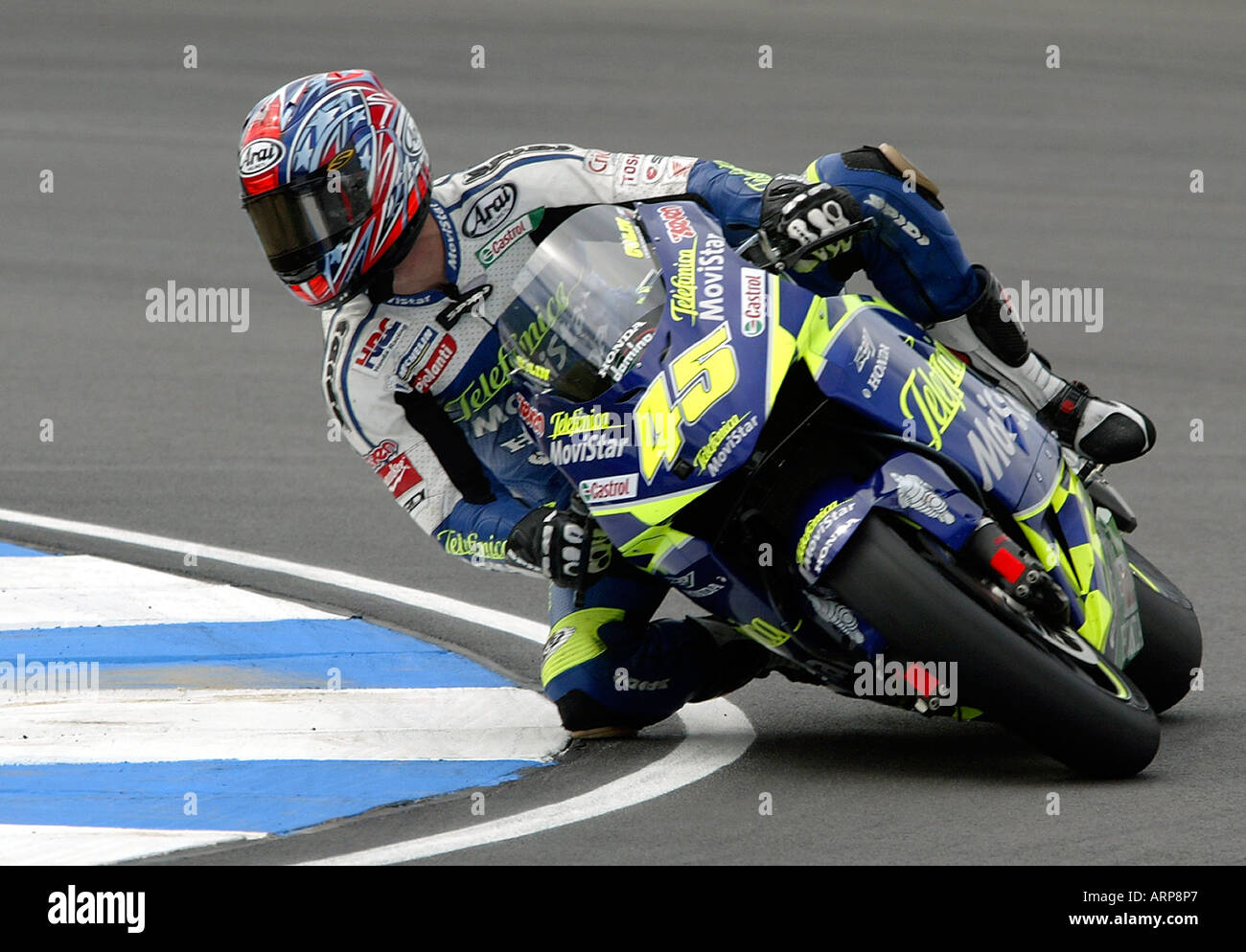 Sete Gibernau, Spanish Moto GP rider Stock Photo: 9201766 - Alamy