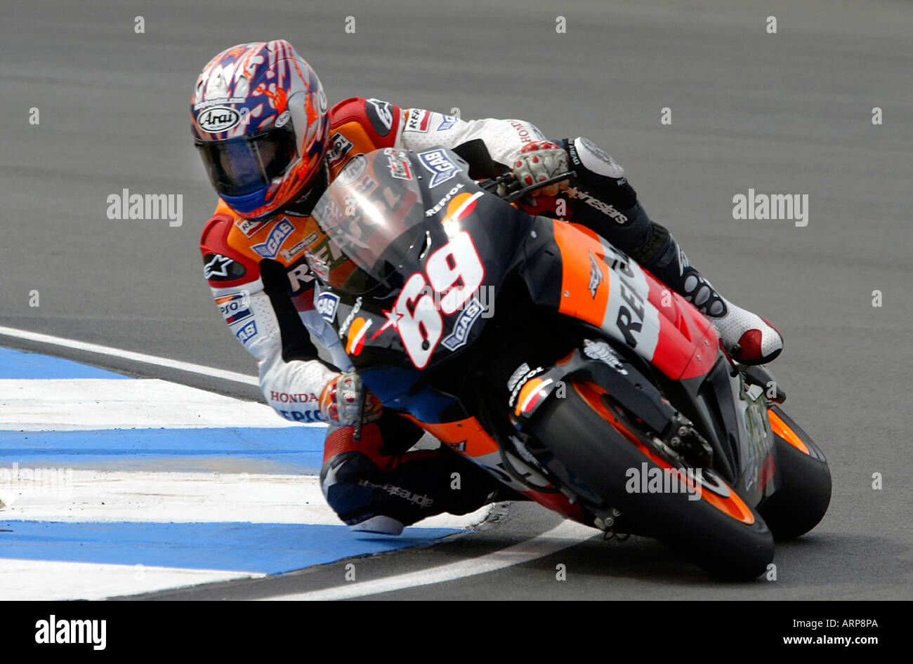 Nicky Hayden High Resolution Stock Photography And Images Alamy